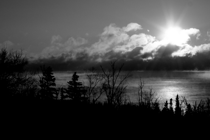 Cold Morning on Lake Superior